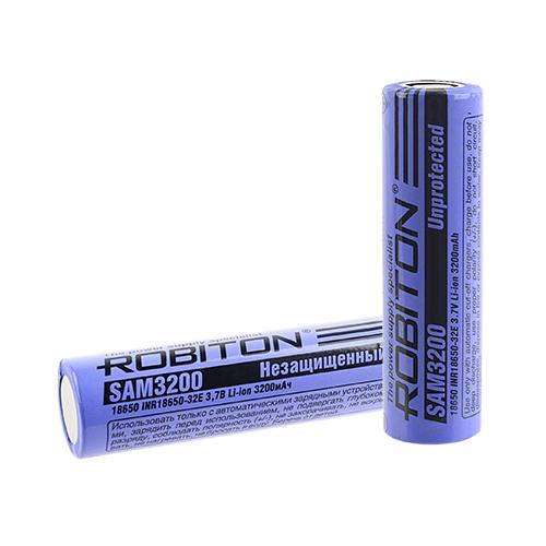 Li-ion 18650 3200мАч  Пром.упаковка
