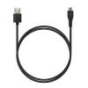 P5 USB A - MicroUSB, Charge&Sync, 1м черный