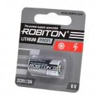 Литиевая батарея 2CR1/3N 170мАч Блистер-1