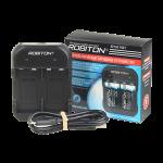 Более мощное и современное зарядное устройство ROBITON для аккумуляторов 9В «Крона»