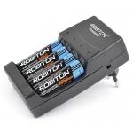 ROBITON Ecocharger AK02 зарядит аккумуляторы и алкалиновые батарейки