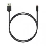 P1 USB A - MicroUSB, 1м черный