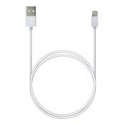 P7 8pin AppleLightning SyncCharg 1м белый