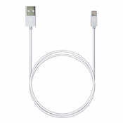 P7 8pin AppleLightning SyncCharg 1м белый