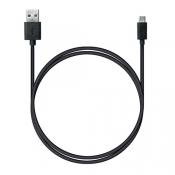 P6 USB A - Type-C, Charge&Sync, 1м черный PH1