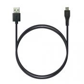 P5 USB A - MicroUSB, 1м черный