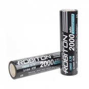 Li-ion 18650 2000мАч без защиты Пром.упаковка