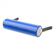 Li-ion 18650 2200мАч без защиты с лепестковыми выводами Пром.упаковка