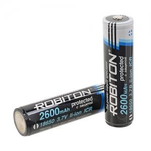 Li-ion 18650 2600мАч с защитой Пром.упаковка