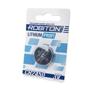Литиевый элемент CR2450 Блистер-1
