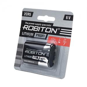 Литиевая батарея 2CR5 1300мАч Блистер-1