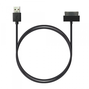 P4-iphone4/1m/Charge&Sync USB A - Apple iPhone 4, 1м черный