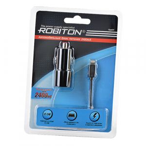 App04 Car Charging Kit 2.4A iPhone/iPad (12-24V)