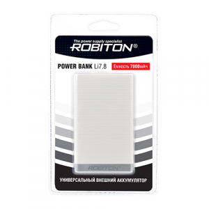 ROBITON POWER BANK Li7.8-W белый