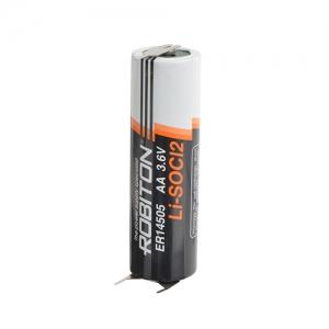 LSC AA 2400мАч с плоскими выводами под пайку Пром.упаковка