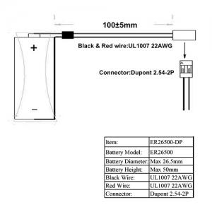 LSC C 9000мАч Dupont 2.54мм Пром.упаковка