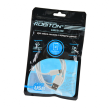 P7 USB A - 8pin (AppleLightning), Charge&Sync, 1м белый