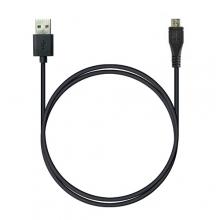 P5 USB A - Micro-USB, Charge&Sync, 1м черный