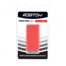 ROBITON POWER BANK Li5.2-R красный