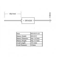 LSC 2/3AA 1600мАч Пром.упаковка